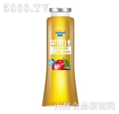 海帆乳果ai苹果汁1L