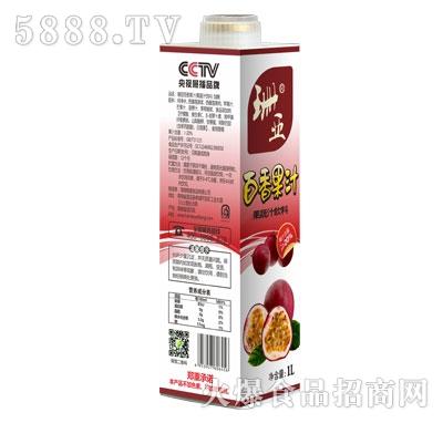 珊亚百香果汁1L