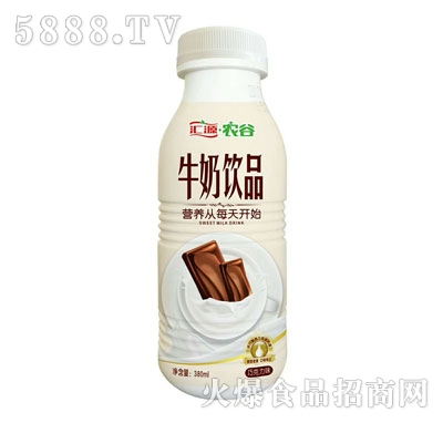 汇源农谷牛奶饮品巧克力味