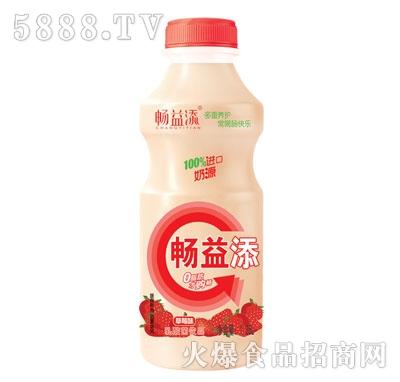 畅益添乳酸菌饮品草莓味1.25L