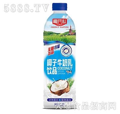 椰开心椰子牛奶乳饮品1.25L