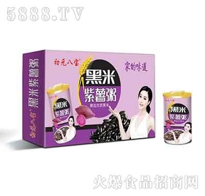 初元八宝黑米紫薯粥320gx12罐