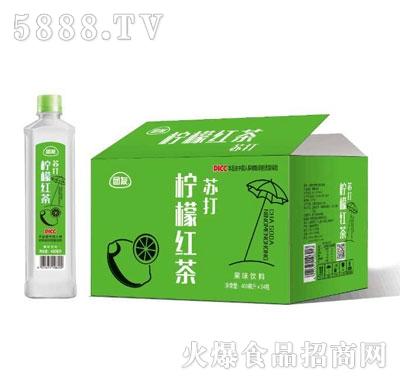 团友柠檬红茶苏打(箱)