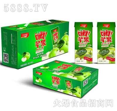 汉水绿梦嗨!苹果水果饮料