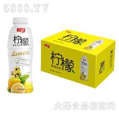 汉水绿梦柠檬果味饮料480mlx15瓶