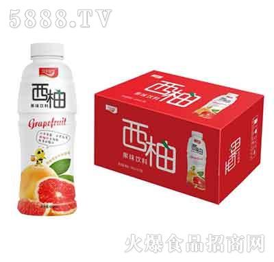 汉水绿梦西柚果味饮料480mlx15瓶