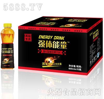 强体能量强化型维生素饮料600mlx15瓶