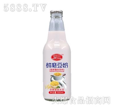 创盟鲜磨豆奶300ml
