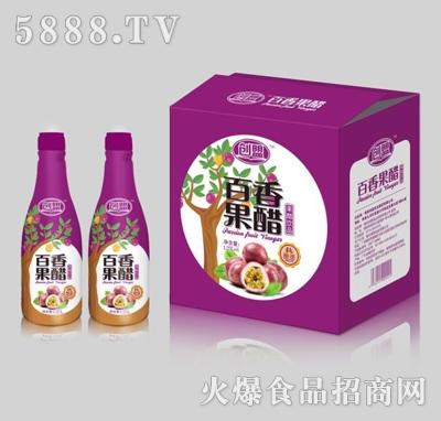 创盟百香果果醋1.25Lx6瓶