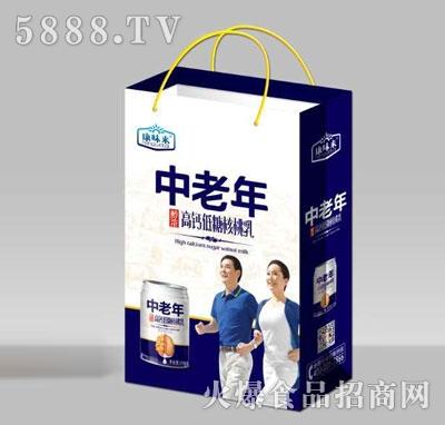 康味来中老年高钙低糖核桃乳(袋)
