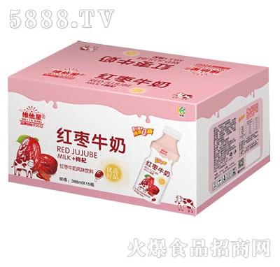 维他星红枣牛奶乳味饮料388mlx15瓶