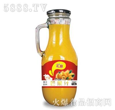 汇甜芒果汁手柄1.5L