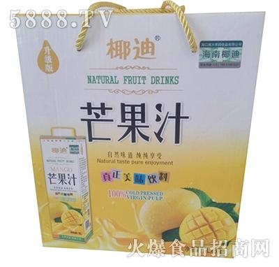 椰迪芒果汁1Lx6瓶