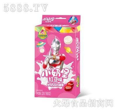 小奶堡红豆味奶片压片糖果32g