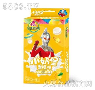 小奶堡香橙味奶片压片糖果32g