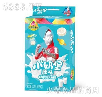 小奶堡原味奶片压片糖果32g