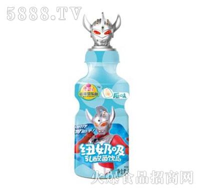 滋漫梦乐园纽奶吸原味乳酸菌饮品200ml