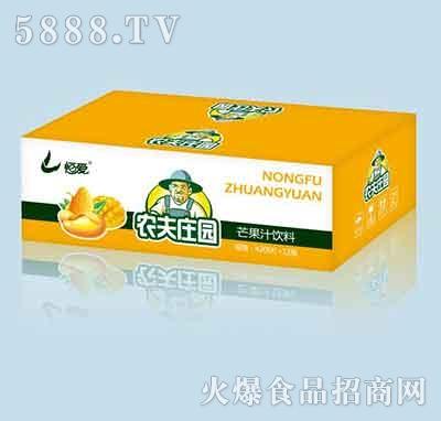 农夫庄园芒果汁饮料420mlx12瓶