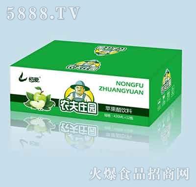 农夫庄园苹果汁饮料420mlx12瓶