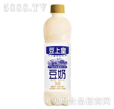 豆上皇非转基因大豆豆奶瓶装产品图