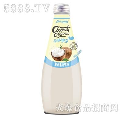 原味椰子复合果汁饮料330ml产品图