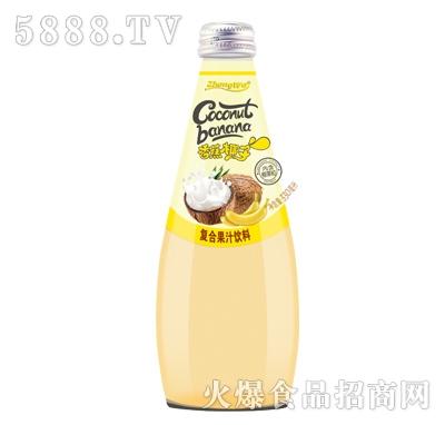 香蕉椰子复合果汁饮料330ml产品图