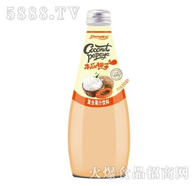 木瓜椰子复合果汁饮料330ml产品图