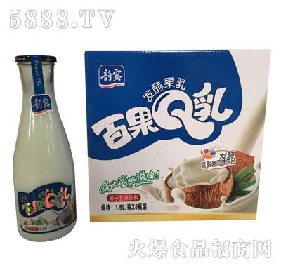 韵露百果Q乳椰子乳味饮料