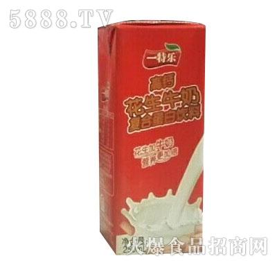 一特乐高钙花生牛奶复合蛋白饮料250ml