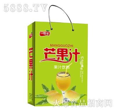 一特乐芒果汁饮料(袋)