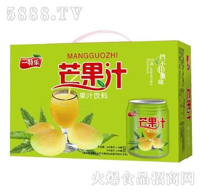 一特乐芒果汁饮料