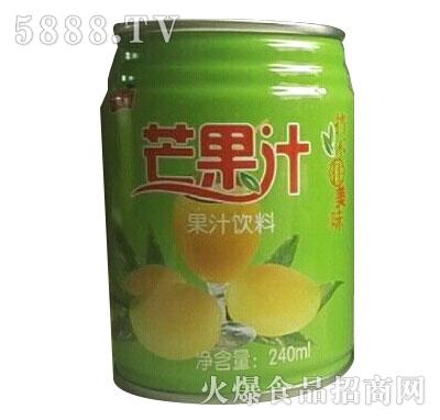 一特乐芒果汁饮料240ml