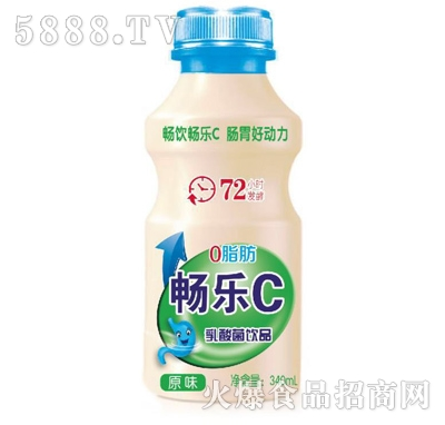 畅乐C原味乳酸菌饮品340ml