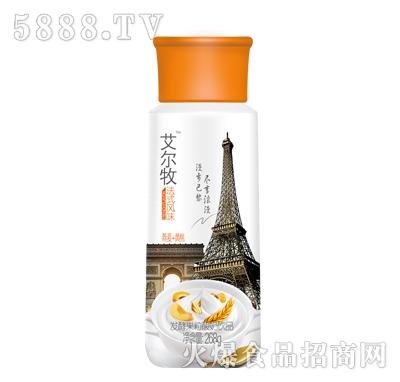 艾尔牧发酵酸奶饮品黄桃味268g