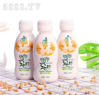 椰汁岛营养豆奶350ml瓶装