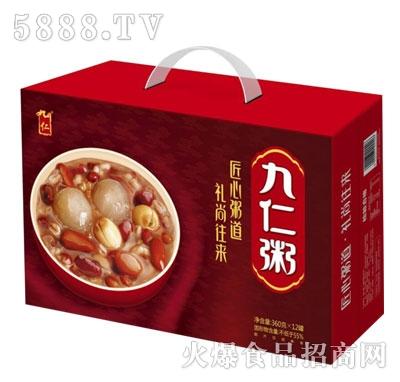 九仁九仁粥360gx12罐