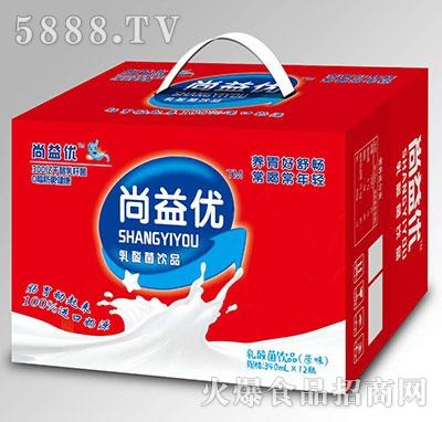尚益优乳酸菌饮品原味340mlx12瓶