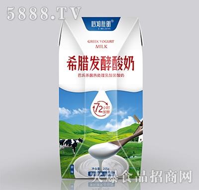 心知肚明希腊发酵酸奶205g
