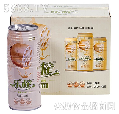 乐榨莲藕汁960mlx6罐