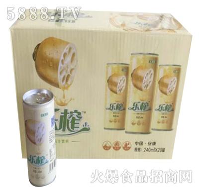 乐榨莲藕汁240mlx20罐