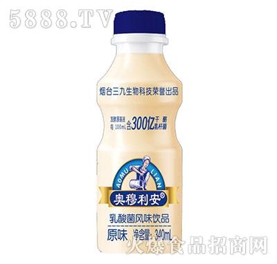 奥穆利安乳酸菌饮品原味340ml