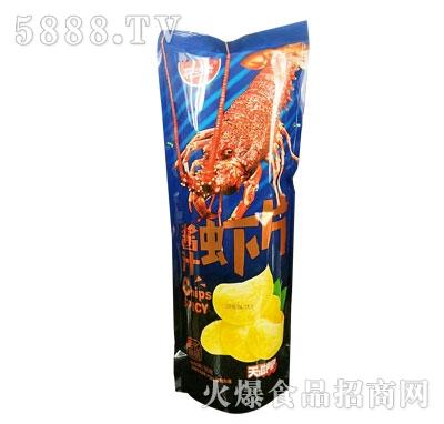 开心咔滋酱汁虾片90g