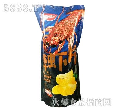 开心咔滋酱汁虾片