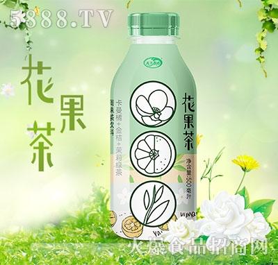 天下水坊花果茶卡曼橘茉莉味绿茶500ml