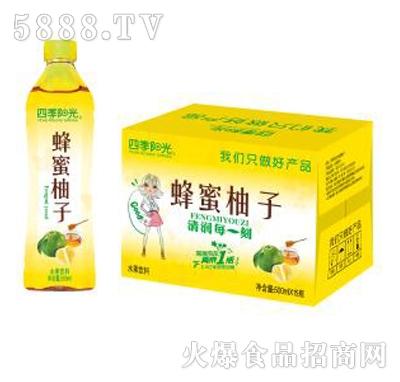 四季阳光蜂蜜柚子500mlx15瓶