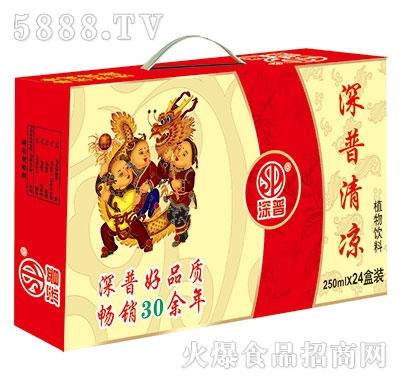 深普清凉茶250mlx24盒