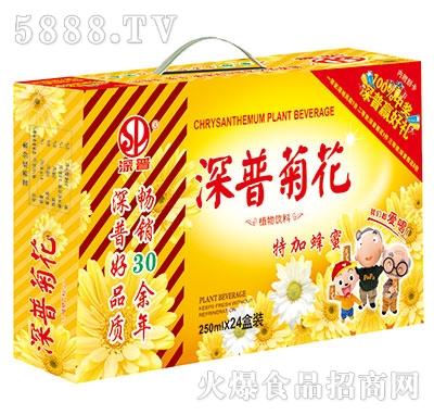 深普菊花茶+蜂蜜250mlx24盒