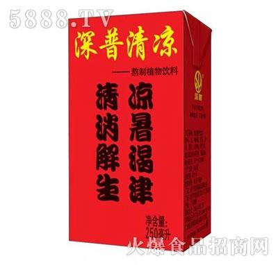 深普清凉茶250ml