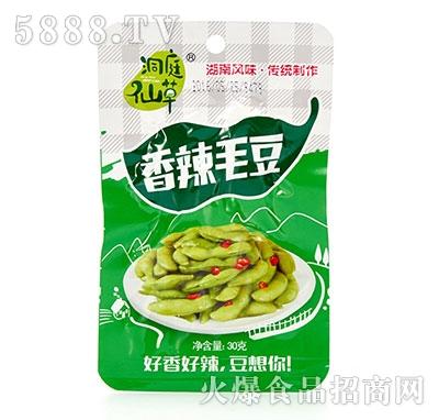 洞庭仙草香辣毛豆30g