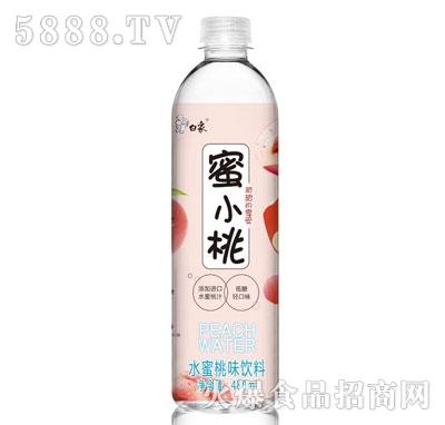 白象蜜小桃水蜜桃味饮料480ml